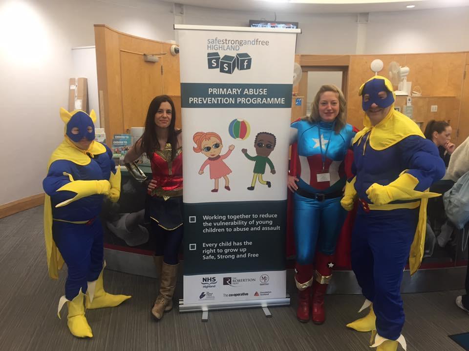 fancy dress superheroes charity